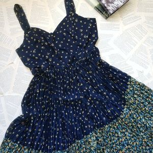 NWOT JASON WU/ELOQUII Floral Pleated Midi Dress